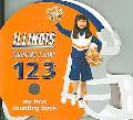 Illinois Fighting Illini 123 My First Counting Book