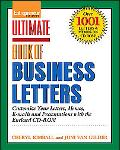 Ultimate Book of Business Letters Customize Your Letters, Memos, E-mails and Presentations