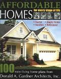 Affordable Homes For Every Stage Of Life  100 Easy-Living Home Plans