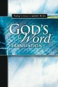 God's Word Translation Black Bonded Leather