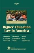 Higher Education Law in America