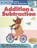 Grade 3 Addition and Subtraction: Kumon Math Workbooks