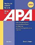 The World's Easiest Guide to Using the APA