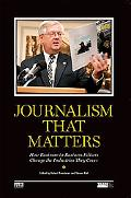 Journalism That Matters How Business-to-business Editors Change the Industries They Cover