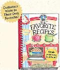 My Favorite Recipes A Create Your Own Cookbook!