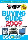 Consumer Reports Buying Guide 2009