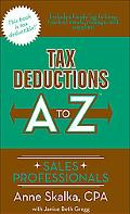 Tax Deductions A to Z for Sales Professionals