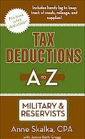 Tax Deductions A to Z for Military & Reservists