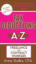 Tax Deductions A to Z for Freelance and Contract Workers