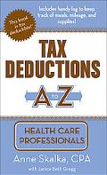 Tax Deductions A to Z for Health Care Professionals