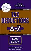 Tax Deductions A to Z Log Book