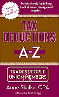 Tax Deductions A to Z for Trades People & Union Members