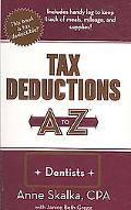 Tax Deductions A to Z for Dentists