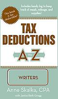 Tax Deductions A to Z for Writers