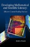 Developing Students' Mathematical and Scientific Literacy Through Text:  Effective Content R...