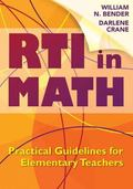 RTI in Math : Practical Guidelines for Elementary Teachers