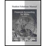 Financial Accounting for MBAs-Student Solution Manual by Peter D. Easton