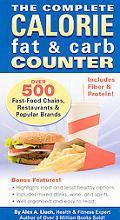 Complete Calorie Fat & Carb Counter