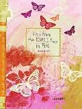 Inspirational Pink For I Know Butterfly Bound Lined Journal 6x8