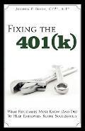 Fixing The 401(K)