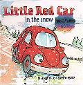 Little Red Car in the Snow
