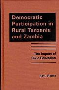 Democratic Participation in Rural Tanzania and Zambia: The Impact of Civic Education