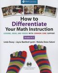 How to Differentiate Your Math Instruction: Lessons, Ideas, and Videos with Common Core Supp...