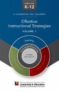Effective Instructional Strategies - Volume 1