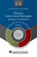 Effective Instructional Strategies - Quadrant d Moments