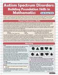 Autism Spectrum Disorders : Building Foundation Skills in Mathematics