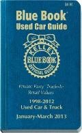 Kelly Blue Book Used Car Guide : January-March 2013