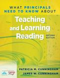 What Principals Need to Know about Teaching and Learning Reading (2nd Edition)