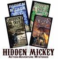 Set of 4 Hidden Mickey Novels about Walt Disney and Disneyland