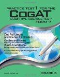 Practice Test 1 for the CogAT - Form 7 - Grade 3 (Level 9): CogAT - GRADE 3 (Practice Test f...