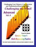 Diagnumb Advanced Vol. 4 : Greater Than 1 Math Reasoning Puzzles