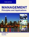 Management: Principles and Applications, Third Edition (Paperback-B/W)