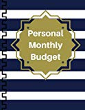 Personal Monthly Budget: Expense Tracker Bill Organizer Business Money Personal Finance Jour...