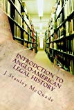 Introdction to Anglo-American Legal History