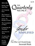 The Quarterly: Volume 2, Number 1