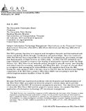 GAO-06-947R Information Technology Management: Observations on the Financial Crimes Enforcem...