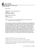 GAO-05-68R, U.S. Commission on Civil Rights: Deficiencies Found in Financial Management and ...