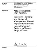 GAO-05-946 Army Corps of Engineers: Improved Planning and Financial Management Should Replac...