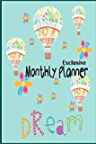 Exclusive Monthly planner: Exclusive Monthly planner / daily planner / Home project planner/...