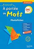 Français CM1 Le nouvel A portée de mots : Photofiches (1CD audio)