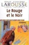 Rouge Et Le Noir (Petits Classiques Larousse) (French Edition)