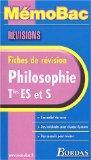 MemoBac : Philosophie terminale ES et S, fiches de rvision (French Edition)