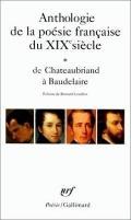 Anthologie De La Poesie...du Xix Siecle