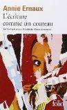 Ecriture Comme Un Couteau (Folio) (French Edition)