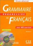 Grammaire Progressive Du Francais (French Edition)