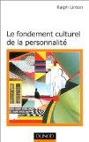 Le fondement culturel de la personnalit
